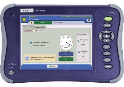 VIAVI MTS-6000A 便携式以太网络、光纤网络测试仪